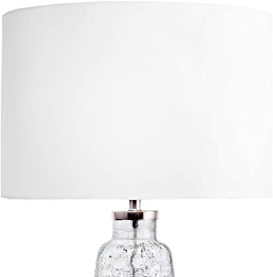 """nuLOOM Clay 28"""" Glass Table Lamp"""