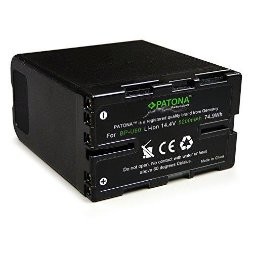 PATONA Premium Bateria BP-U60 Compatible con Sony PMW-EX1 PMW-EX3 PMW-F3 PMW-150 PMW-200