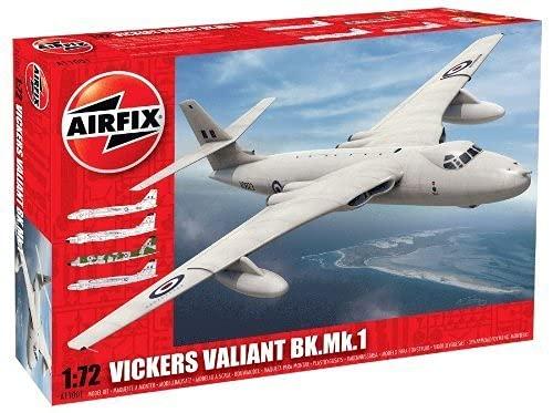 エアフィックス 1/72 ビッカース ヴァリアント B.Mk1 プラモデル