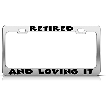 Chrome METAL License Plate Frame PROUD TO BE A VEGAN Auto Accessory