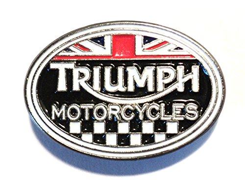 Anstecker aus Metall/Emaille, mit Motiv Triumph Classic 1960er Motorrad