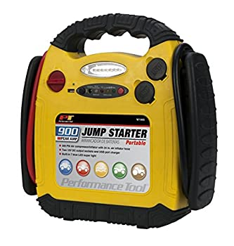 Performance Tool W1665 900 Amp Jump Starter, inflation, and Portable Power Unit