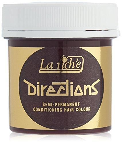 La Riche Directions Semi Permanent Hair Colour Rose Red 88ml