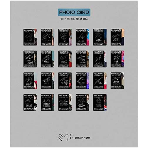 NCT 2020 Resonance pt.2 Arrival Version (Incl. Random NCT 2020 Transparent Photocard Set) |