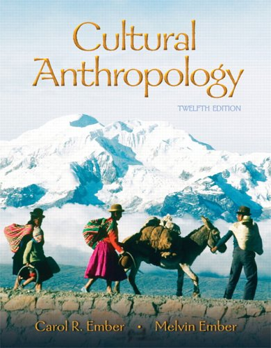 Cultural Anthropology (12th Edition)