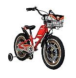 [ 組立済み ] DUCATI(ドゥカティ) 子供用自転車 18インチ TDK-183 レッド 18型 【完成組立品】