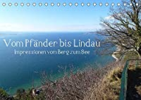 Vom Pfaender nach Lindau (Tischkalender 2022 DIN A5 quer): Eine Wanderung vom Berg zum See. (Monatskalender, 14 Seiten )