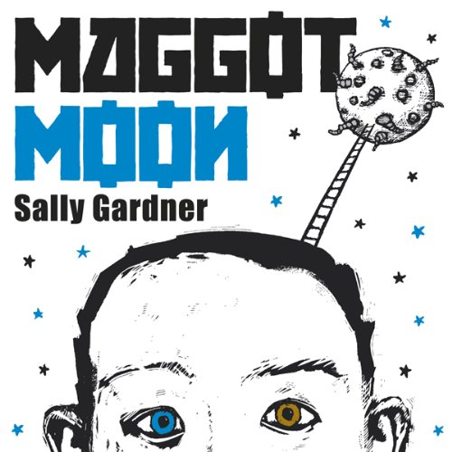 Maggot Moon audiobook cover art