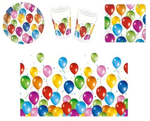 Procos 412291 Partyset Balloons Fiesta, Größe S