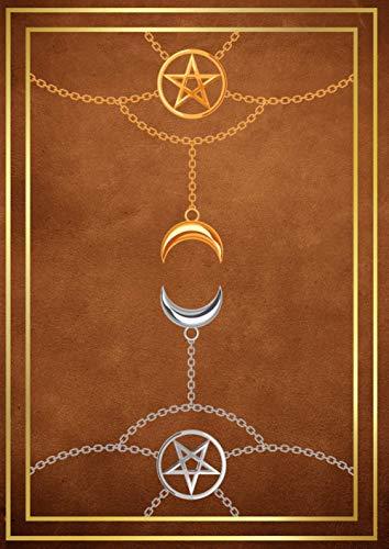 Buch Der Schatten - Grimoire Notizbuch: Hexenbuch Leer - Blanko Buch Zauberbuch Für Zaubersprüche, Rituale und Rezepte - Journal Buch Und Notebook Für Hexen. A4. Deutsch.