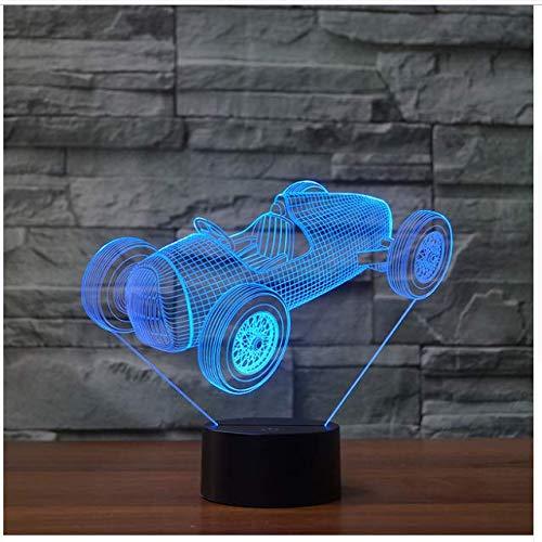 Gran Torino Touch Wecker Tischlampe 7 Farben Ändern Schreibtischlampe 3D Lampe Neuheit Led Nachtlichter Todesstern Led Licht
