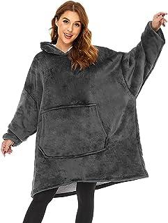 Lushforest Hoodie Sweatshirt, Damen Kapuzenpullover, Riesen-Sweatshirt, Super weich und bequem, Geeignet für Erwachsene, M...