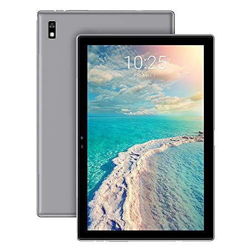 Tablet 10 Pollici Blackview Tab 9 Tablet Android 10,Batteria 7480mAh,Octa-Core 4G LTE Dual SIM+5G WiFi Tablet in Offerta,Fotocamera 13MP,1200*1920 FHD+IPS,4+64GB,128GB Espandibili,Face ID,OTG-Grigio