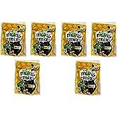 カルビー ミーノ miino mix ミックス しお味(えだ豆・黒豆・カシューナッツ) 27g ×6袋