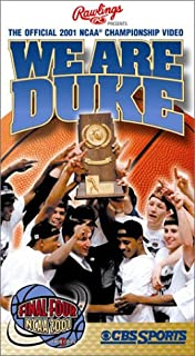 We Are Duke - The Official 2001 NCAA Championship Video VHS