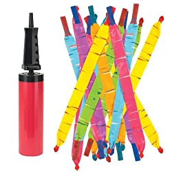 Rocket Baloons with Pump