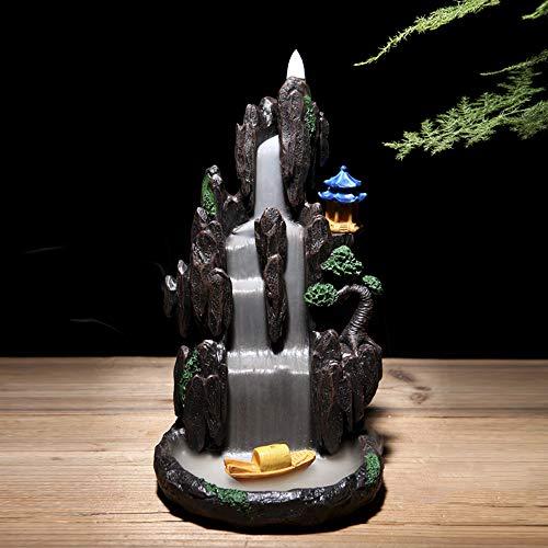 Semli Mountain - Quemador de Incienso con Forma de Cascada d