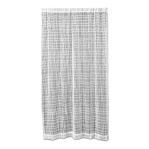 Heritage Dentelle Seacoast Panel, Blanc, 45 x 63-inch-p, Blanc, 121 x 182 x 5.0 cm