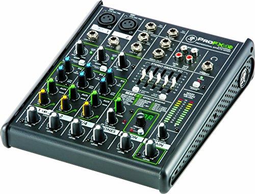 4-Kanal-FX-Mixer von Mackie, ProFX4V2