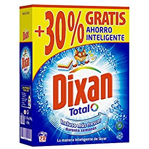 Dixan Detergente Polvo – 72 Lavados (3,96 Kg)
