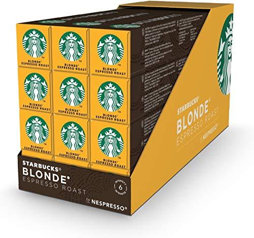 Starbucks® - Blonde® Espresso Roast by Nespresso® Blonde® Roast - 12x 10 Capsules