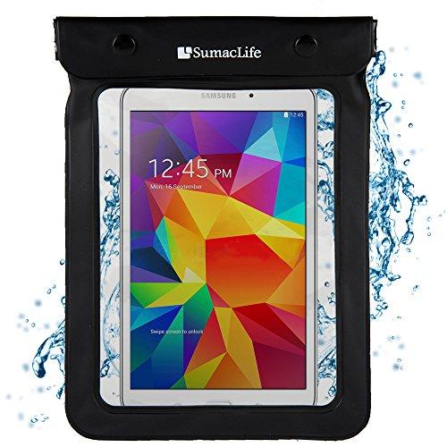 "Waterproof Case for 6 - 8.4"" Tablets / eReaders- Kindle Fire, iPad, Galaxy, Nexus, Venue, MeMO Pad, Iconia, IdeaTab, & Others"