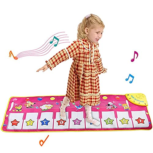 Piano Music Dance Mat, Educational Music Toys for 3+ year Old Boys Girls...