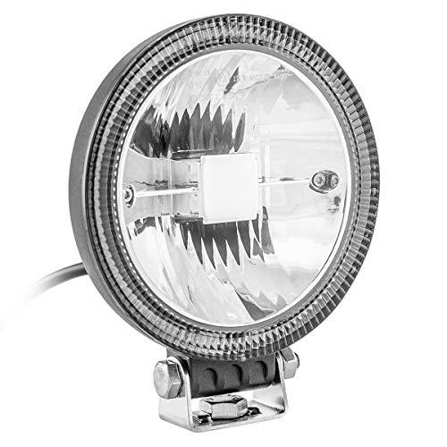 """Fernlicht Zusatzscheinwerfer mit Standlicht LED 5\"""" Fernscheinwerfer Positionslicht Straßenzulassung"""