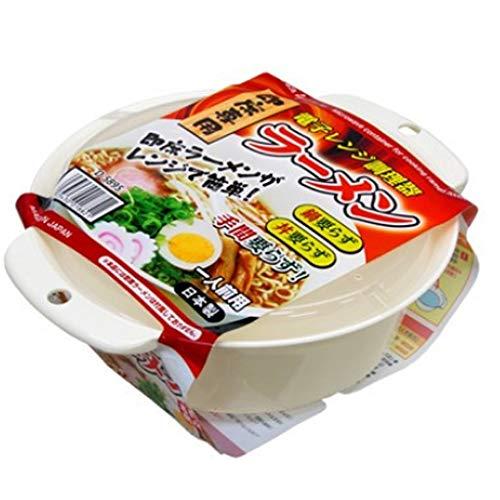 レンジ de ラーメンメーカー ヌードルメーカー 電子レンジでラーメンが作れる 時短料理 調理器 調理用品 グリル鍋 一人暮らし 日本製 お得なRunwayCharmステッカー付 rcnp1