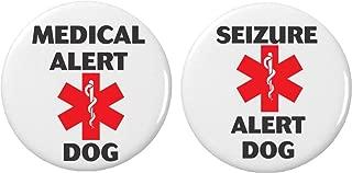 Set 2 Seizure Medical Alert Dog 2.25