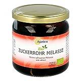 Aurica Bio - Melassa di canna da zucchero, sciroppo non raffinato, 450 g di soluzione
