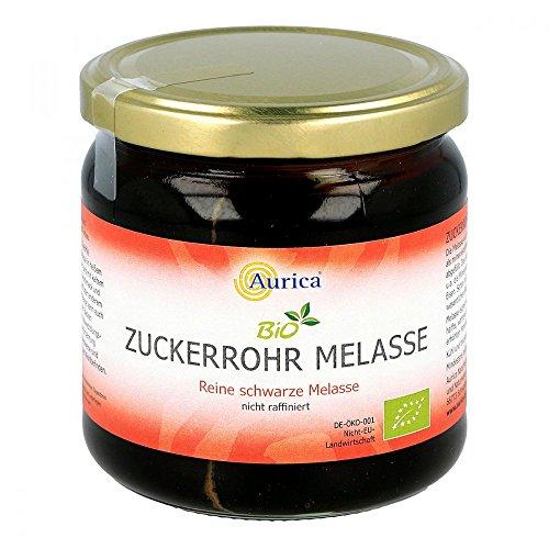 Aurica Bio Zuckerrohr Melasse nicht raffiniert Sirup, 450 g Lösung