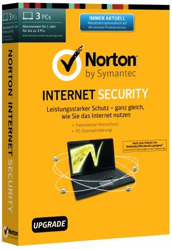 Norton Internet Security 2014 - 3 PCs - Upgrade [import allemand]