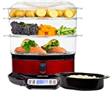 Andrew James Electric Food Steamer 3...