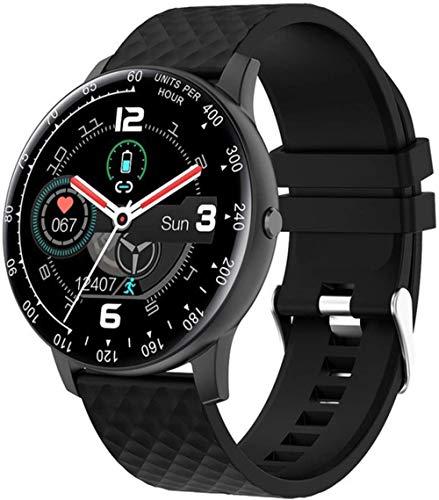 Reloj inteligente deportivo para hombre, IP68, resistente al agua, para mujer, pantalla de ciclo menstrual, pulsera inteligente para Android IOS Fitness Tracker SmartWatch (Color: A) - B