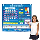 EAI Education Daily Math Calendar Pocket Chart