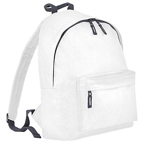 BagBase Umhängetasche/Rucksack für Damen Weiß Weiß/Graffiti One size