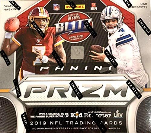 2019 Panini Prizm NFL Football HOBBY box (12 pks/bx)
