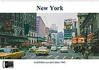 New York im Jahr 1963 (Wandkalender 2021 DIN A2 quer): Analoge Fotografie - New York - Die Stadt die niemals schlaeft! (Geburtstagskalender, 14 Seiten )