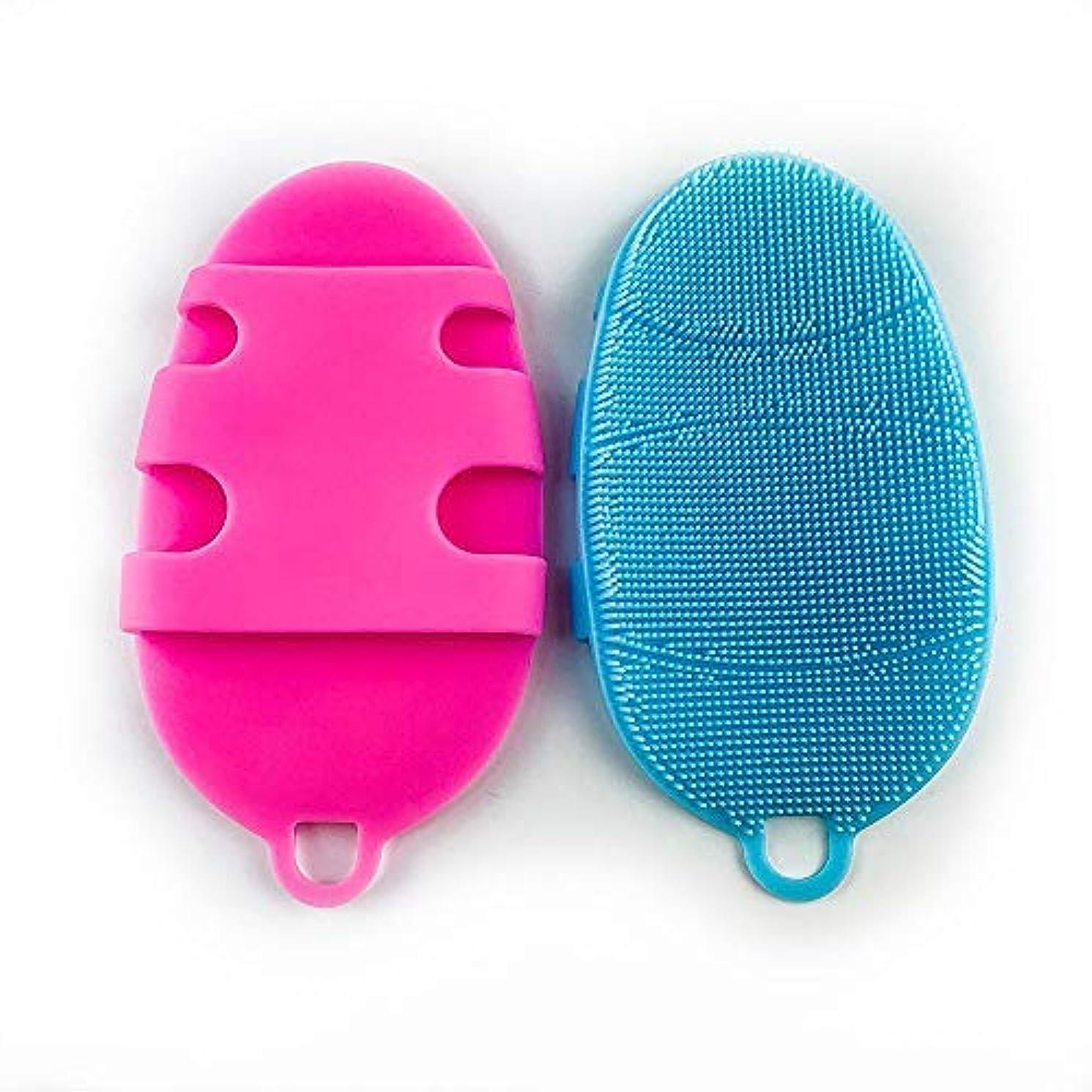 ポールシャープ妖精ボディブラシ バスブラシ マッサージ シリコン ソフト洗い 背中も洗える 角質除去 毛穴清潔 入浴グッズ