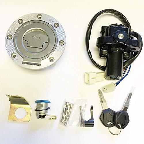 Ignition Switch Lock Fuel Gas Cap Key Set For Yamaha V Star 1300 XVS1300(07-15)