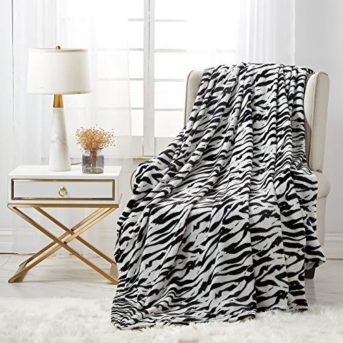 softan Flanelldecken für ganzes Jahr, weiche Fleecedecke für Bett und Sofa 150x200cm Zera