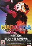 Madonna - Sticky, Hamburg 2009 » Konzertplakat/Premium
