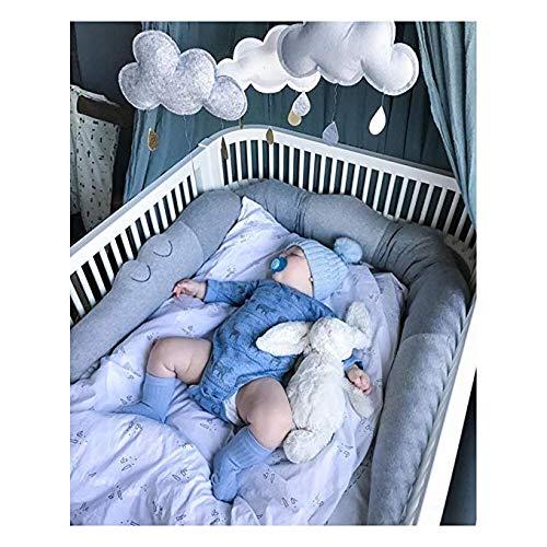 Parachoques de Bebé Cocodrilo Cuna Almohada Cojín - Cuna Valla Cochecito Parachoques Regalo para Niños Recién Nacidos Juguetes de Dormir Decoración de Cama