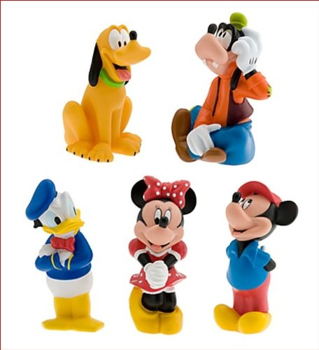 Mickey Mouse and Friends Squeeze Toy Set - 5-Pc by Disney