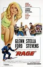 Rage Movie Poster (27 x 40 Inches - 69cm x 102cm) (1966) Style B -(Glenn Ford)(Stella Stevens)(David Reynoso)(Armando Silvestre)(Ariadna Welter)