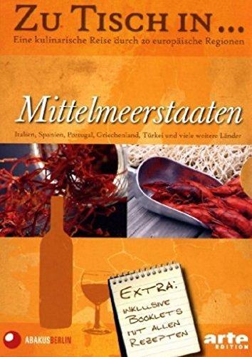 Zu Tisch in... Mittelmeerstaaten (Box 1, 5 DVDs)