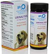 10-in-1 Dog & Cat Urine Test Strip 100ct   Vet-10 Veterinary Grade Pet Wellness Urinalysis Testing Kit   Detect Animal Urinary Tract Infection UTI, Diabetes, Kidney & Liver Function, Infections &More