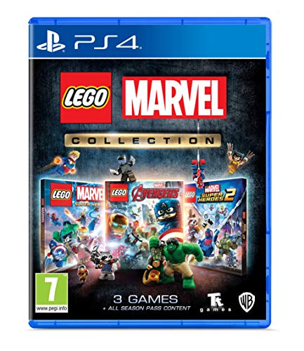 PS4 Lego Marvel Collection PEGI Deutsch