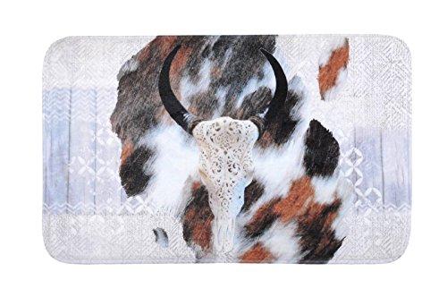 Lovely Casa Valdavia vloermat, polyester, natuur, 75 x 45 cm